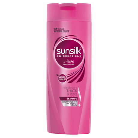 Lusciously Thick & Long Shampoo 80ml front of pack image