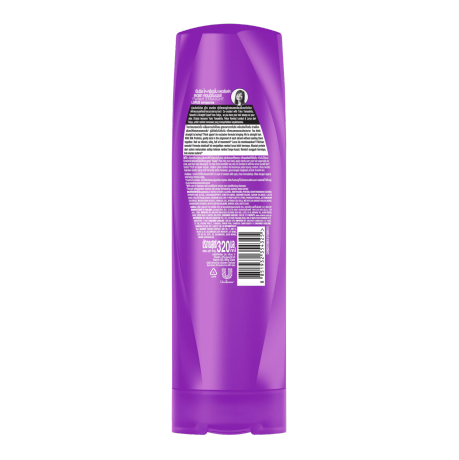 Sunsilk Perfect Straight Conditioner 320ml back of pack image